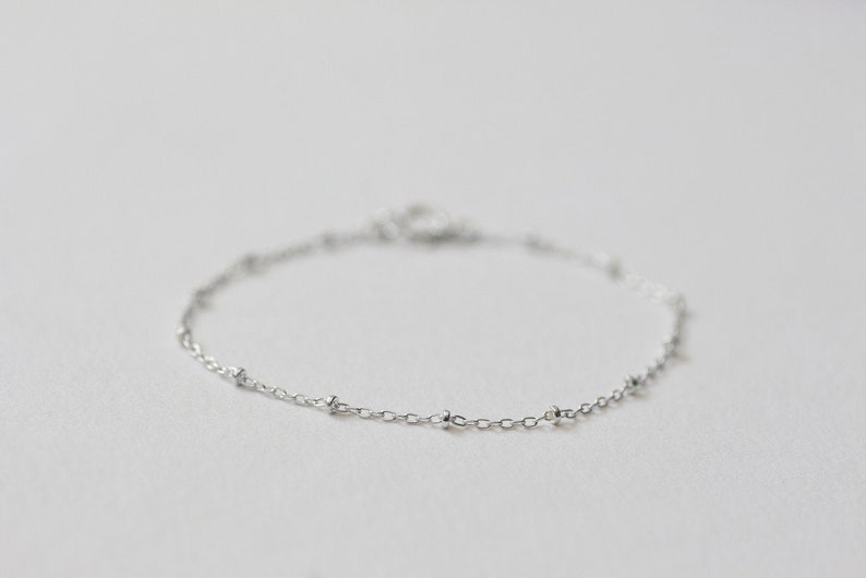 Classic Bracelet 3  Handmade 925 Sterling Silver Jewellery image 0