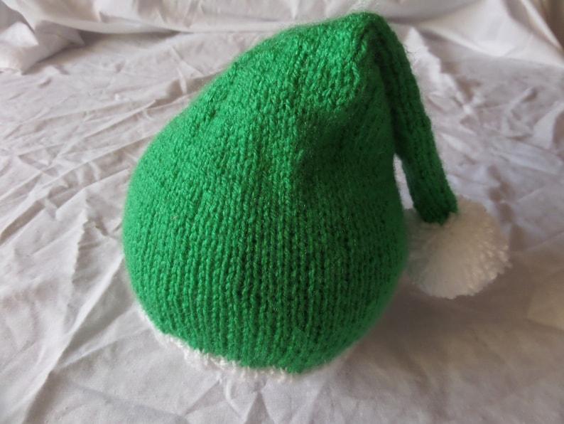 c19a0fa32b4 Christmas Elf Bobble Hat   Festive   Noel   Crimbo   Xmas