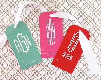 Personalized Gift Tags - Set of 24