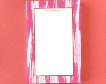 Painted Ikat Notepad