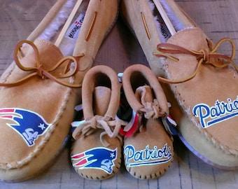 e5bc8095d3d42 Patriots slippers | Etsy