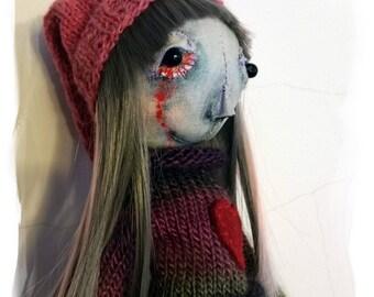 Voodoo doll * art doll * Zombie * rag doll * creepy * horror * Handmade * fetish * Personalized