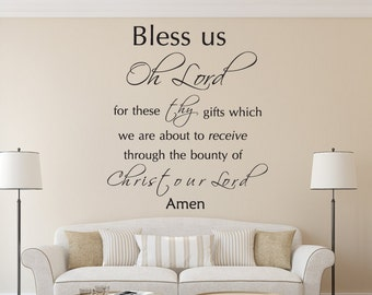 Scripture Wall Decal Etsy