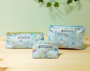 Baby Girl / Boy / Newborn / New Mum Zip Up Toiletries / Cosmetic / Make-up Bags