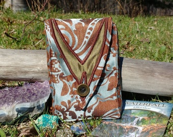 Ocean Breeze Tarot & Oracle Card Pouch // Divination Bag