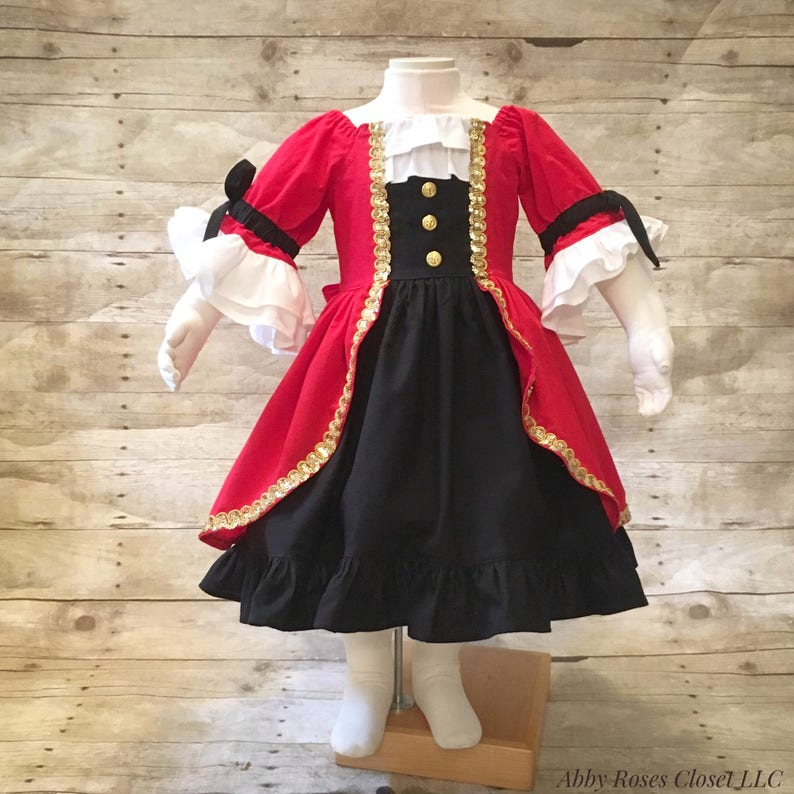 Pirate dress , Captain Hook dress