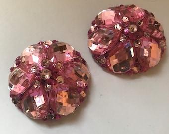 Pink and fuchsia pasties