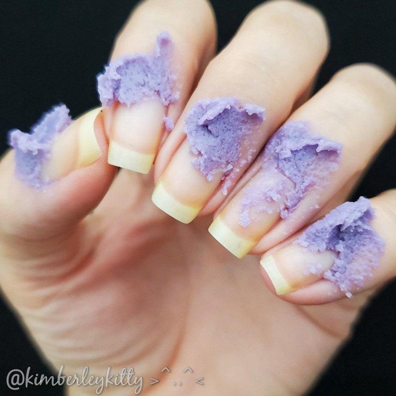 Spa Manicure sugar scrub hand scrub manicure treatment image 0