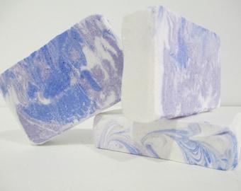 Sea salt soap, salt bar, face soap, ocean soap, swirly soap, hard soap, long lasting soap bars, pretty soap, hostess gift