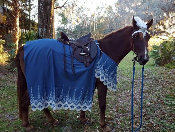 & Kings Messenger Horse Costume Medieval Barding Costume