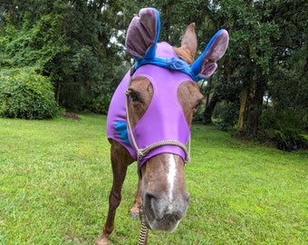 Mitch Equine Costume - Cartoon Outfit for Pony or Horse or Mule, Equine Halloween Costume
