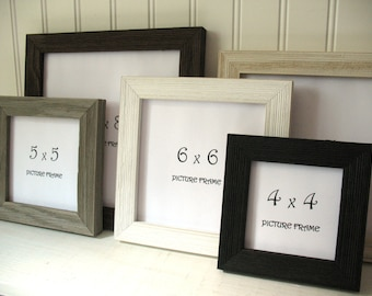 5x5 Picture Frame Etsy