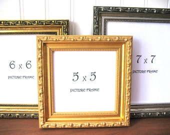 4x4 Photo Frame Etsy