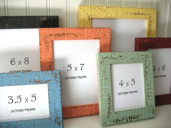 Mini Frame 12 Colors Beachy Picture Instagram Photo Frame Etsy