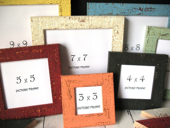 SQUARE 12 COLORS MINI Beachy Picture Frame Instagram Photo