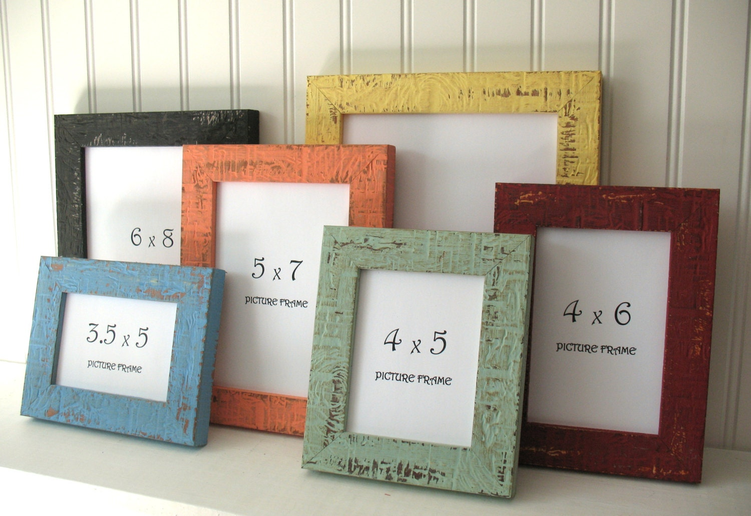 MINI FRAME 12 COLORS Beachy Picture Instagram Photo Frame Rustic ...
