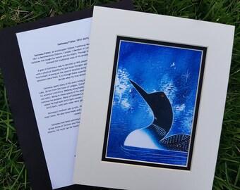Loon Print - Gelineau Fisher