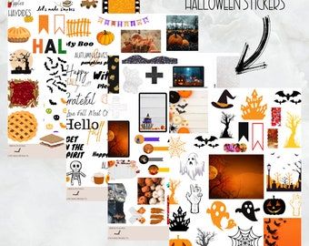 It's Fall Y'all Sticker Collection, Halloween Stickers, Fall Sticker Pack, Goodnotes stickers, Zoomnotes, noteshelf, notability, PNG Files