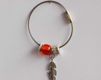 Key Ring Orange