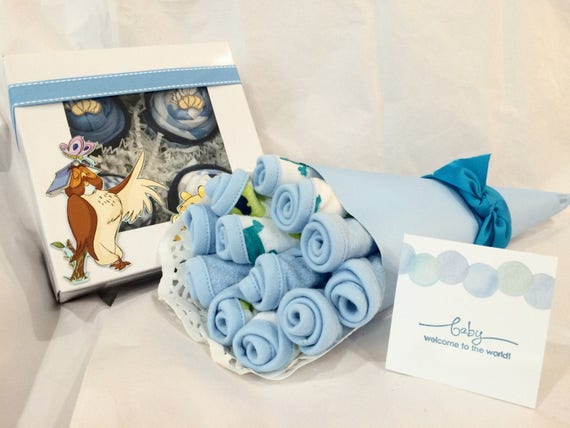 4 wash cloths new Winnie the Pooh 3 months size birthing gift Unique shower gift cupcake one piece baby 9 pcs gift set clothes 4 bodysuits