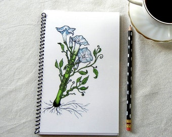Blooming Clarinet Notebook