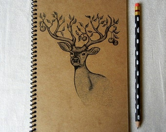Apple Tree Stag Notebook