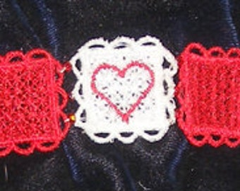 FSL Bracelet Squares that can be made to any size Wrist or Ankle