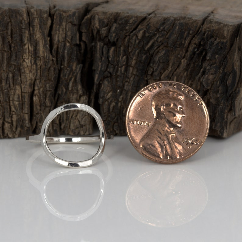 Big O Ring Sterling Silver