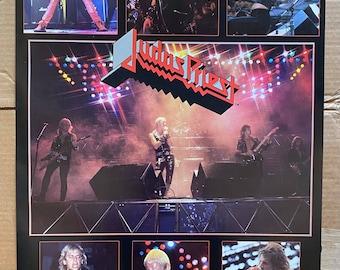 "Vintage & Original 1984 Judas Priest 20"" x 28"" Bi-Rite Poster Unused Rob Halford"