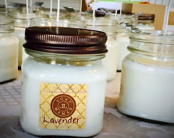 Soy Mason Jar Candles