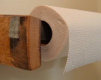 Paper Towel Holder Etsy