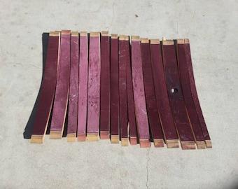 Napa Wine Barrel Staves set of 15
