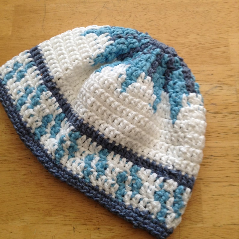 Sale Chemo Cap Cotton Crochet Chemo Beanie Hat Mochila Hat Etsy
