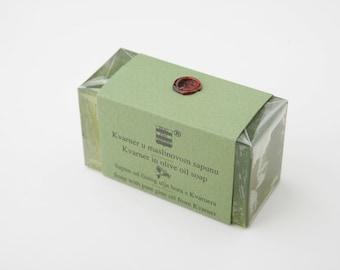 Olive & Pine soap from Kvarner