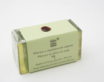 Olive & Fir soap from Plitvice