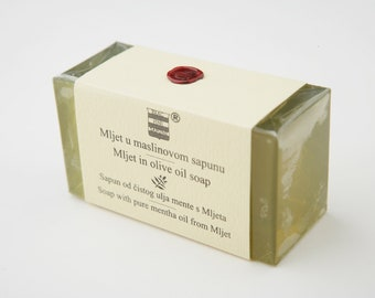 Olive & Mentha soap from Mljet