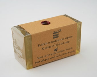 Olive & Basil soap from Korčula