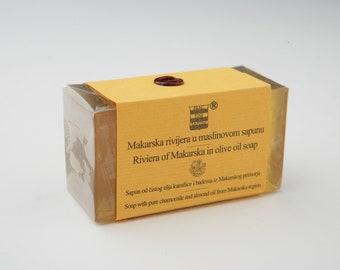 Olive, Chamomile & Almond soap from Makarska