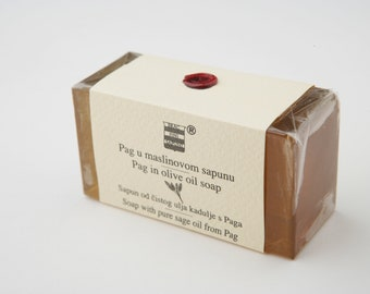 Olive & Sage soap from Pag