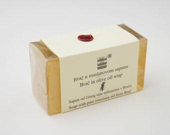 Olive & Rosemary soap from Brač