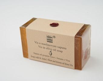 Olive & St John's wort soap from Vis