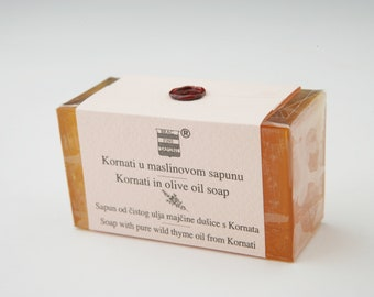 Olive & Thyme soap from Kornati