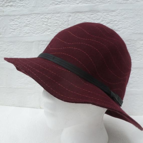 8512f1ad05b Womens hat ladies orvis bucket hat 1990s wool accessory winter