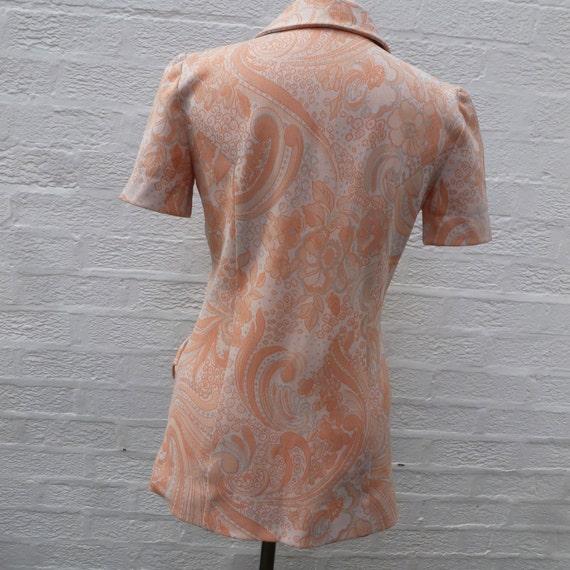 Jacket '60s  handmade clothing, Vintage blazer sh… - image 4