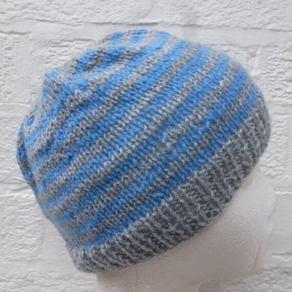 0fd205b885f Boys hat vintage knit accessory teens beanie handmade gift