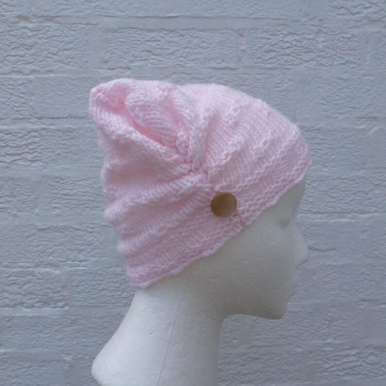 212ac8d9 Hat small beanie pink hat wool beanie handmade hat winter pink | Etsy