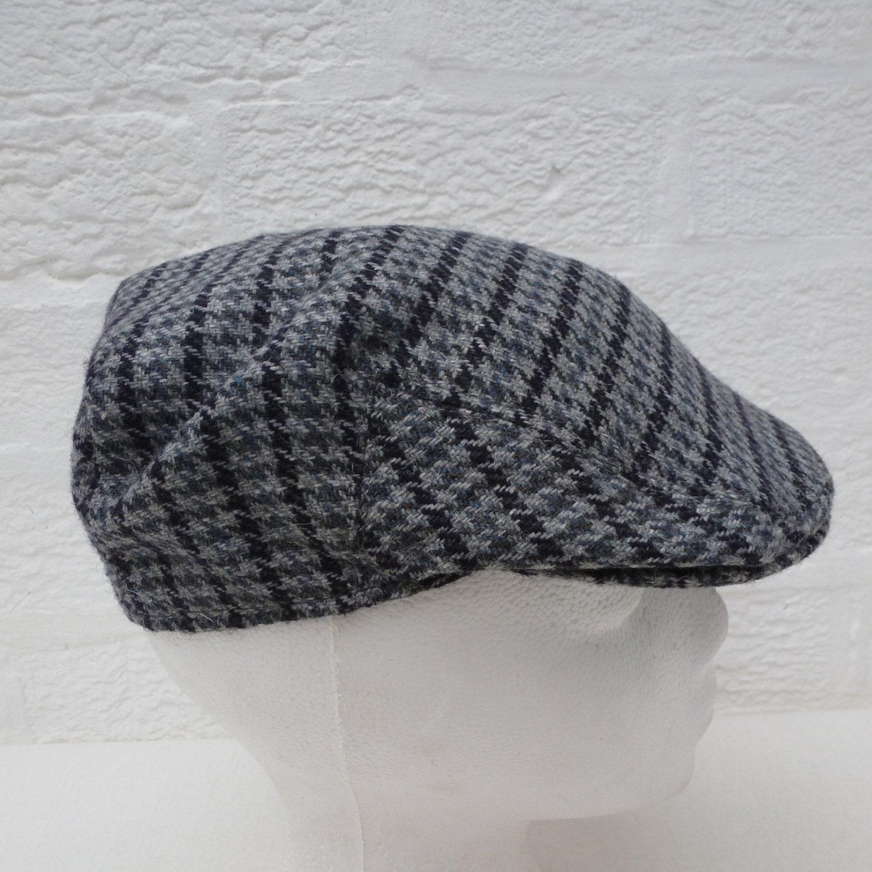 69f45989cc3 Boys flat cap vintage wool newsie hat 1960s vintage headwear