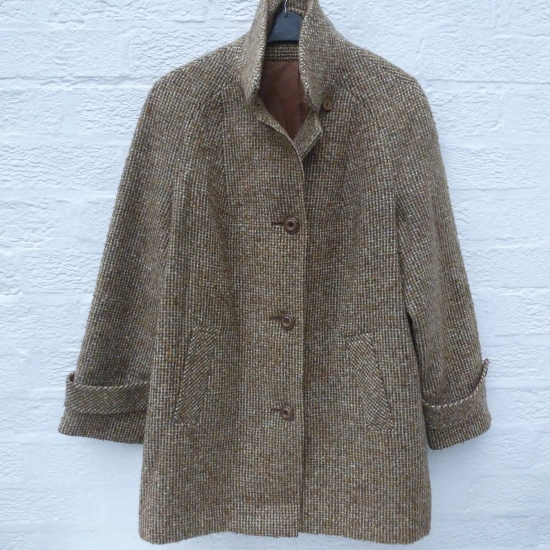 074d5d2ad8ad English car coat ladies clothing 1960s fashion gift for her