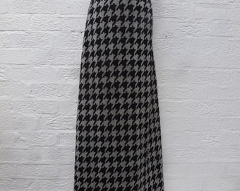 Mod skirt scooter womens lurex disco clothing sparkle zip up skirt houndstooth vintage clothes 60s fashion womens ladies festival skirt 60s