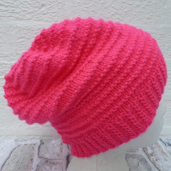 TaraLynEvansStudio Chunky Knit Beanie Womens Beanie Hat